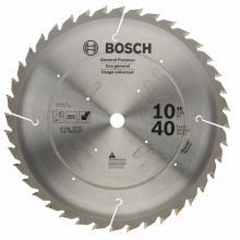 Bosch DCB1072CD 10 72 Tooth Edge Circular Saw Blade for Composite Decking