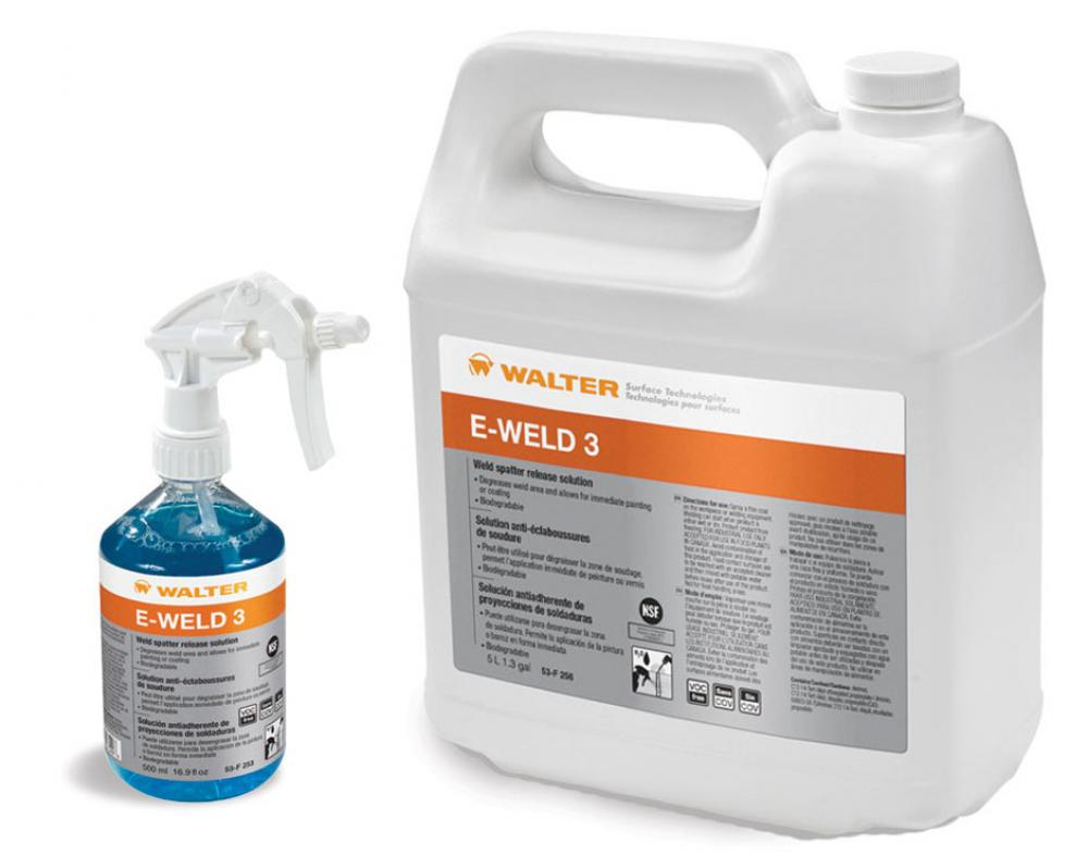 Walter Surface Technologies 53F253 Trigger sprayer 16.9 fl.oz., E-WELD 3
