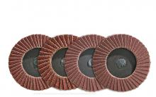 Walter Surface 04A254 - Walter Surface Technologies 04A254 2-1/2 in. Grit 40,  TWIST  Flap Discs