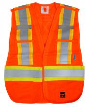 Alliance Mercantile 6115O - Open Road 5 Point Tear Away Safety Vest