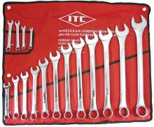 SureWerx 20215 - 16 PC S.A.E. Combination Wrench Set
