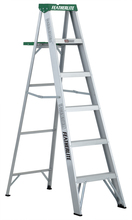 Louisville Ladder Corp 2406 - Featherlite 6-ft Aluminum Stepladder 225 lbs duty rating TII