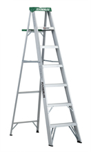 Louisville Ladder Corp 2407 - Featherlite 7-ft Aluminum Stepladder 225 lbs duty rating TII