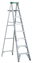 Louisville Ladder Corp 2408 - Featherlite 8-ft Aluminum Stepladder 225 lbs duty rating TII