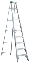 Louisville Ladder Corp 2410 - Featherlite 10-ft Aluminum Stepladder 225 lbs duty rating TII