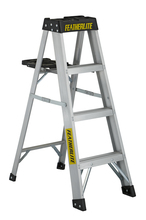 Louisville Ladder Corp 3404 - Featherlite 4-ft Aluminum Stepladder 300 lbs duty rating TIA