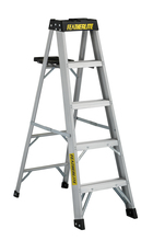 Louisville Ladder Corp 3405 - Featherlite 5-ft Aluminum Stepladder 300 lbs duty rating TIA