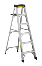Louisville Ladder Corp 3406 - Featherlite 6-ft Aluminum Stepladder 300 lbs duty rating TIA