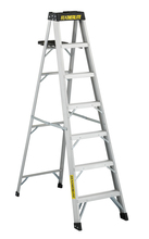 Louisville Ladder Corp 3407 - Featherlite 7-ft Aluminum Stepladder 300 lbs duty rating TIA