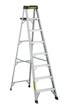 Louisville Ladder Corp 3408 - Featherlite 8-ft Aluminum Stepladder 300 lbs duty rating TIA