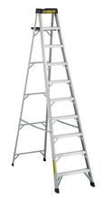 Louisville Ladder Corp 3410 - Featherlite 10-ft Aluminum Stepladder 300 lbs duty rating TIA