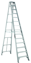 Louisville Ladder Corp 3414 - Featherlite 14-ft Aluminum Stepladder 300 lbs duty rating TIA