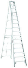Louisville Ladder Corp 3416 - Featherlite 16-ft Aluminum Stepladder 300 lbs duty rating TIA