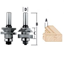 Carbide Tipped Beading Bit x 11//16 In Bosch 85497M 1//2 In