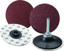 100 Pack United Abrasives-SAIT 56224 SAIT-Lok 3ZH 2-Inch 50X Laminated Disc