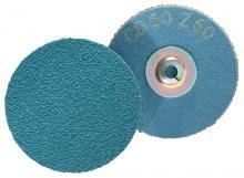 Ceramic Oxide CO-COOL PFERD 42281 Combidisc Quick Change Abrasive Disc Pack of 50 24 Grit 3 Diameter PFERD Inc. Type CD 3 Diameter